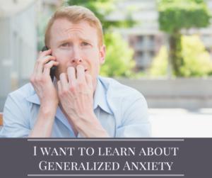 Generalized Anxiety Treatment