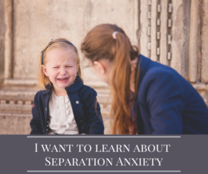 Separation Anxiety Treatment
