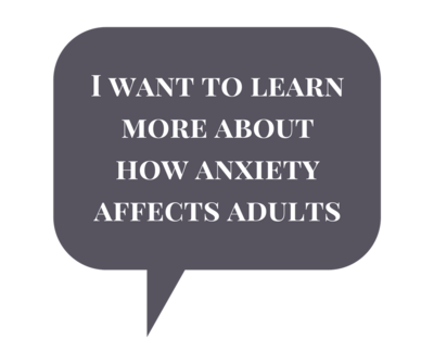 Anxiety Treatment for Adults