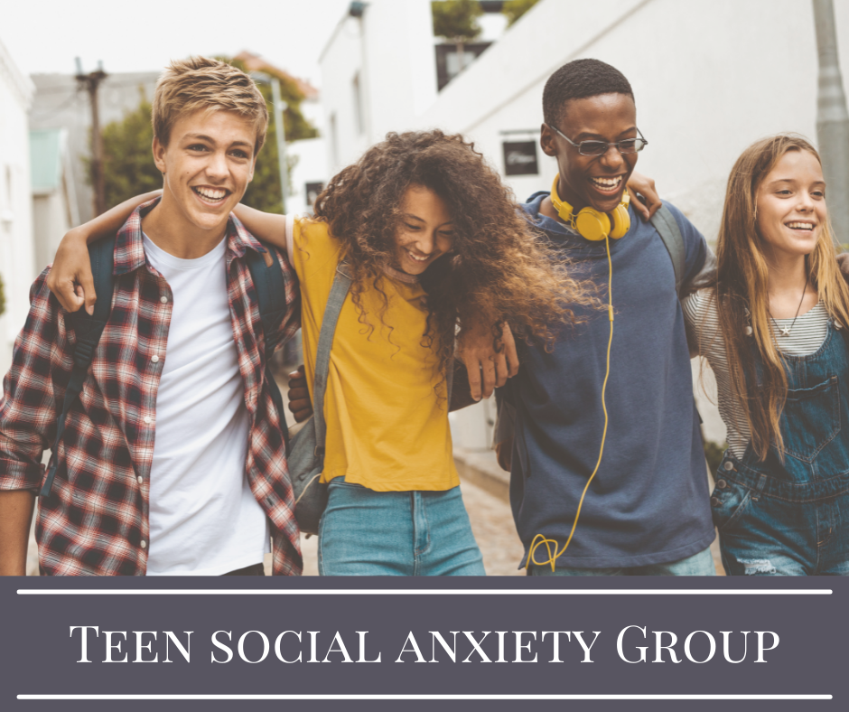 Teen Social Anxiety Group